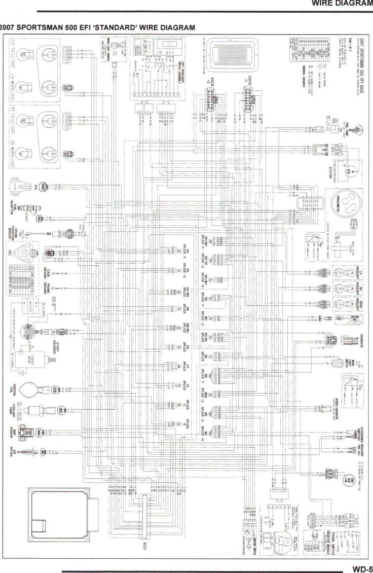 Comfortable 2004 Polaris Sportsman Wiring Diagram Images