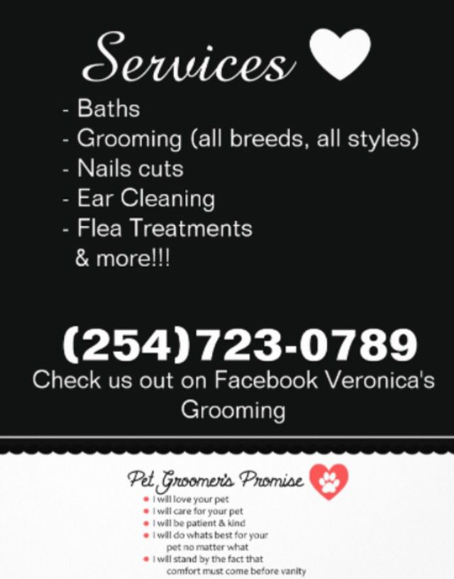 Local Dog Grooming Killeen Texas Military Wives Copperas Cove Fort