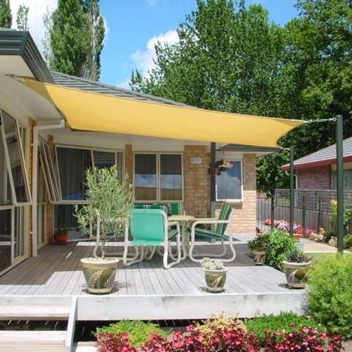 how to make a sail shade for patio