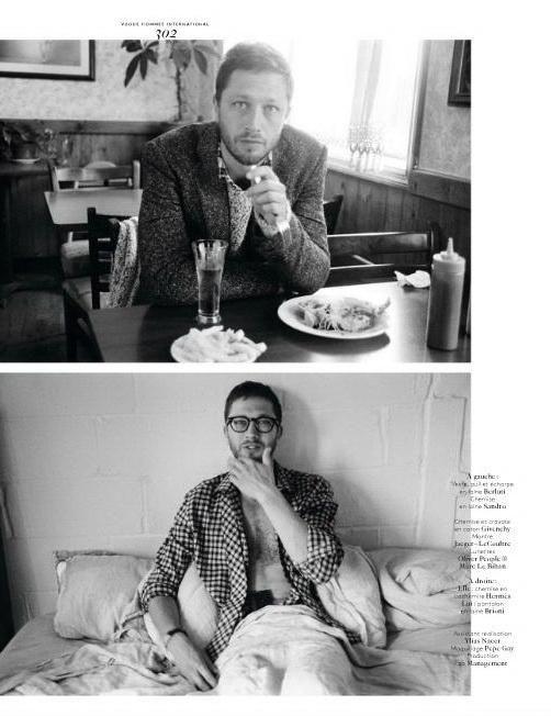 Ebon Moss-Bachrach by Yelena Yemchuk for Vogue Hommes International