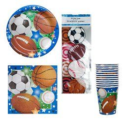 http://partycreations101.com/sports-themed-birthday-party-ideas