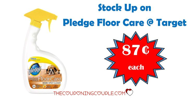 PRINT NOW! Print coupons to get a HOT deal at Target! Pledge Floor Care Spray is only $0.87 each! Stock up at this price!  Click the link below to get all of the details ► http://www.thecouponingcouple.com/pledge-floor-care-spray-only-0-87-target/ #Coupons #Couponing #CouponCommunity  Visit us at http://www.thecouponingcouple.com for more great posts!