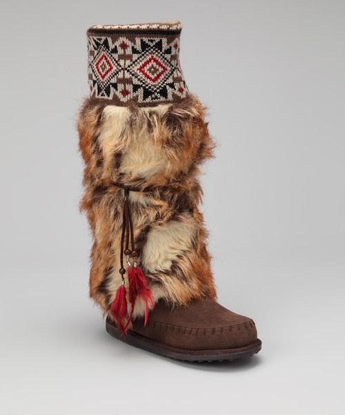 Muk luk- Indian boots