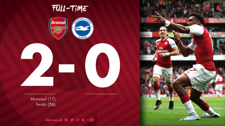 And on Nigerian Independence Day to boot!!! C'mon you Gooners!! (Oct. 1 2017 at the Emirates)