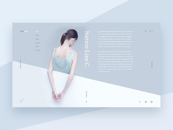 Sezione by Alexander Shmelev #Design Popular #Dribbble #shots