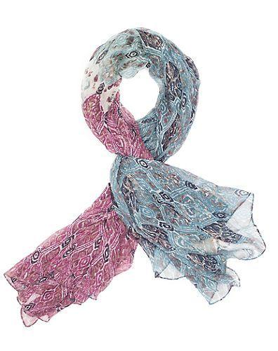 Cute scarf!! OVERPRINTED IKAT SCARF - LuckyBrand