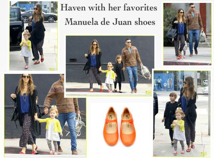 Jessica Alba's daughter Haven was wearing Manuela de Juan Mimi style in L.A!!