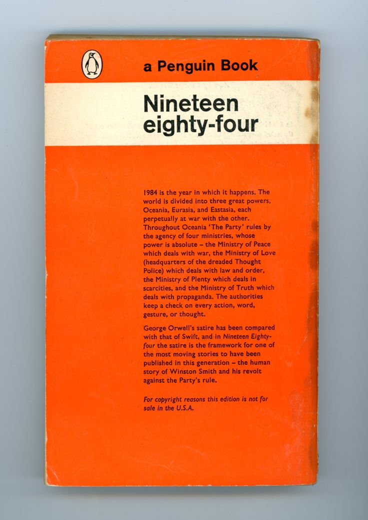 an essay on george orwells nineteen eighty four 1984 An introduction to 1984 by george orwell, single introductory lesson focusing on key facts about the text, its title and place in literary history.