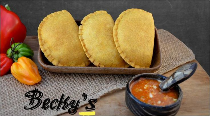 "For this Saturday we have the best option food to share with family and friends. "" Empanadas Colombianas""  Stuffed with beef or chicken."
