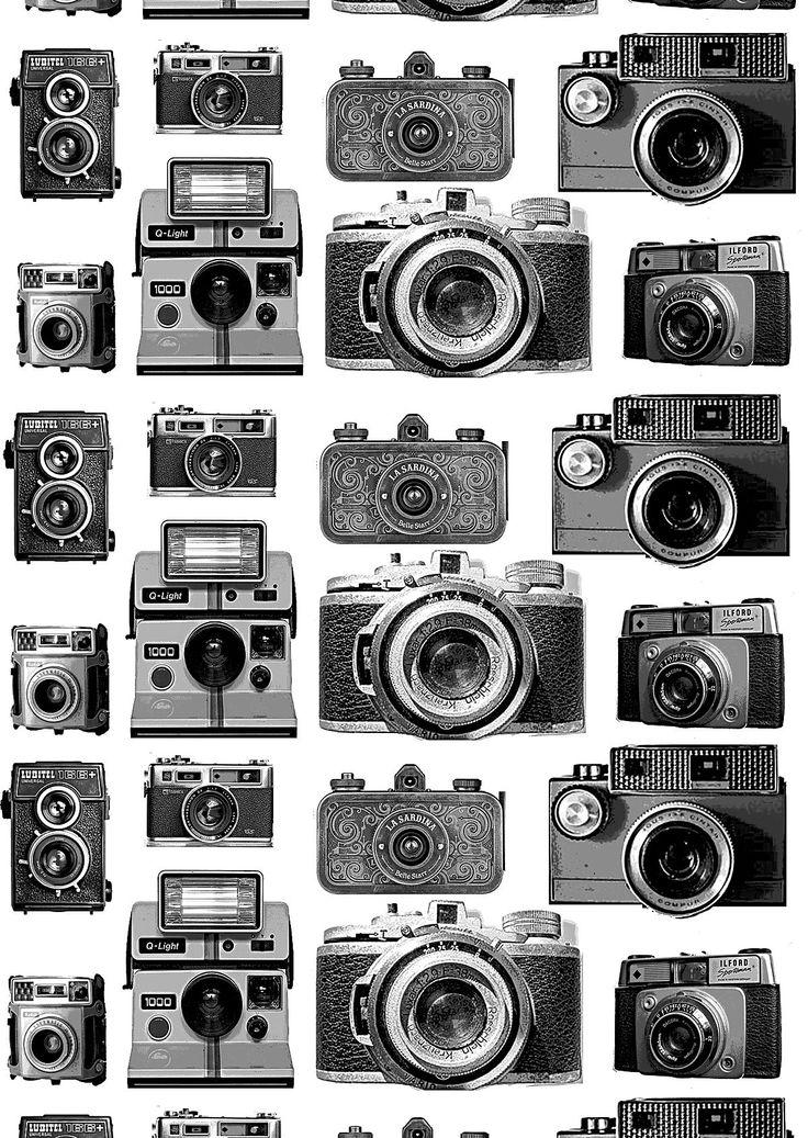 NetAnttila - Vallila Sivuverho Kamera 1x140x240 cm | - musta-valkoinen