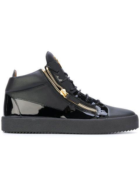 GIUSEPPE ZANOTTI Kriss Hi-Top Sneakers. #giuseppezanotti #shoes #sneakers