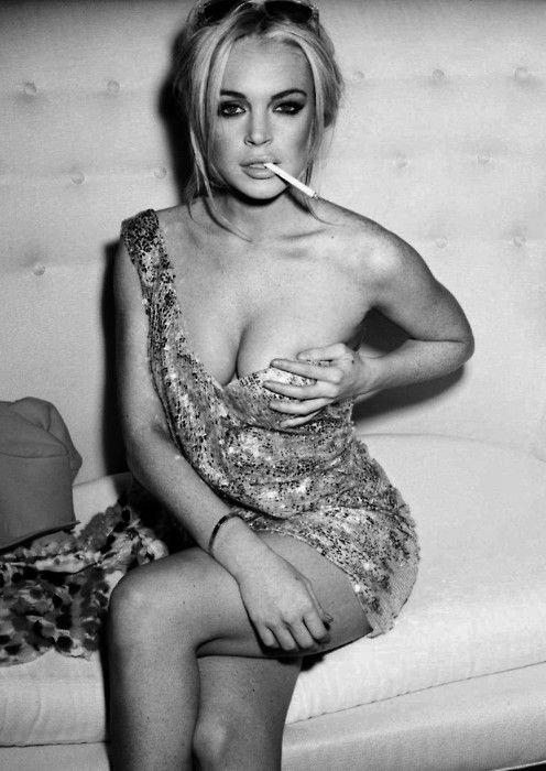Lindsay Lohan, dang she used to look good.