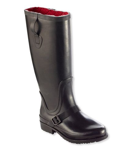 Women's Insulated Wellie Rain Boots, Tall | Free Shipping at L.L.Bean