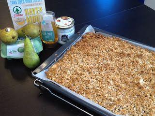 Heel Gezonde Mama: Recept: Peren Havermout crumble