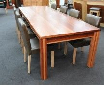 DT026 - DINING TABLE, SHADOWLINE STYLE IN JARRAH
