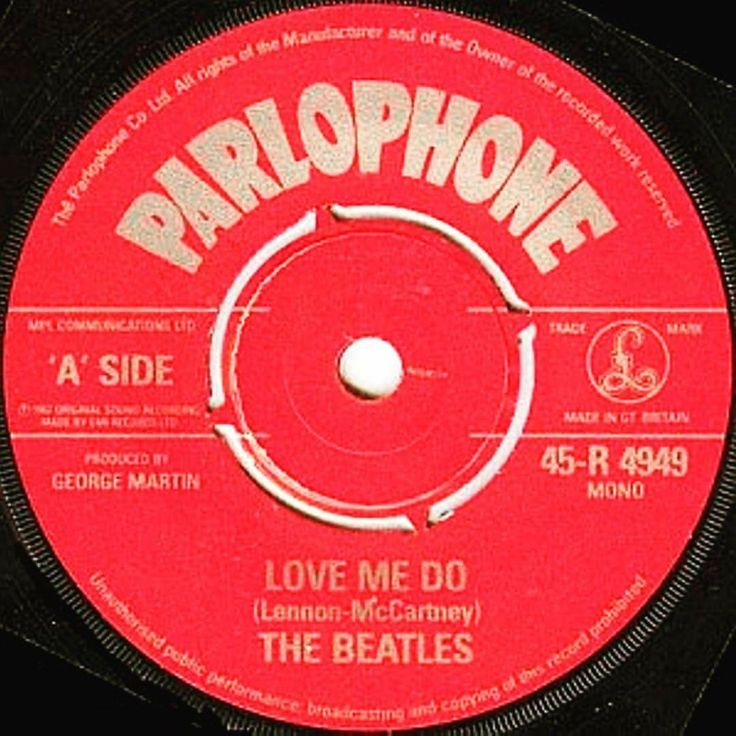 """The Beatles single """"Love Me Do"""" was release in the US on April 27, 1964.⠀"""