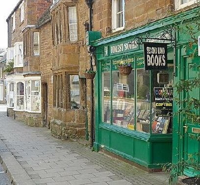 Second-hand book shop in Uppingham