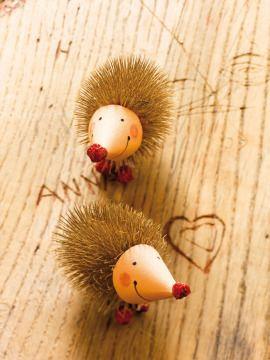 21 best teasel crafts images on pinterest nature crafts for Basteln herbst mit naturmaterialien