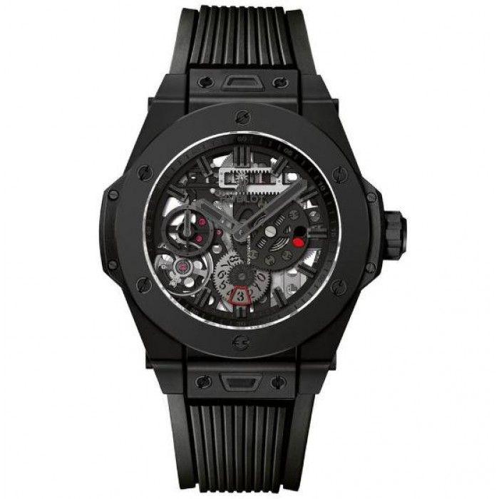Hublot [NEW][LIMITED 500][全新限量500支] Big Bang Meca-10 All-Black 414.CI.1110.RX (Retail:US$22,000) ~ Special Price HK$129,800