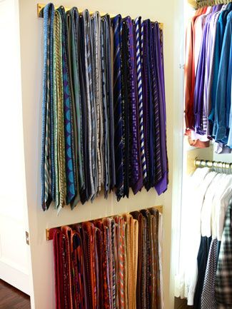 organize my ties...please!