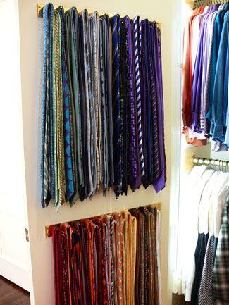 Best 25+ Tie storage ideas on Pinterest   Tie rack ...