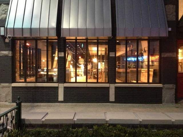 The new meeting house restaurant in downtown rochester