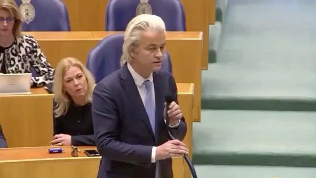 """Here is a clip from a debate in the Dutch Parliament, by Geert Wilders @geertwilders, about President Trump and the """"refugee"""" situation. Fake news mainstream media will not show this because it doesn't support their agenda. It needs to be seen so people can understand that President Trump has a lot of support from leaders in other countries.  #dutch #parliament #debate #presidenttrump #donaldtrump #europe #immigration #syria #america #muslimban #refugees @connecticut_conservative"""