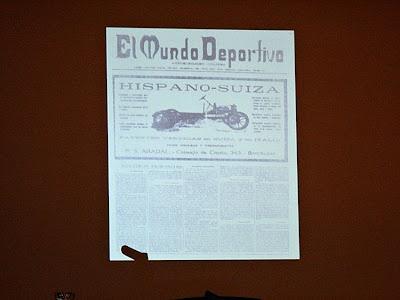 Primer número de 'El Mundo Deportivo' (1 de febrero de 1906). Primer diario deportivo de España, publicado en Barcelona