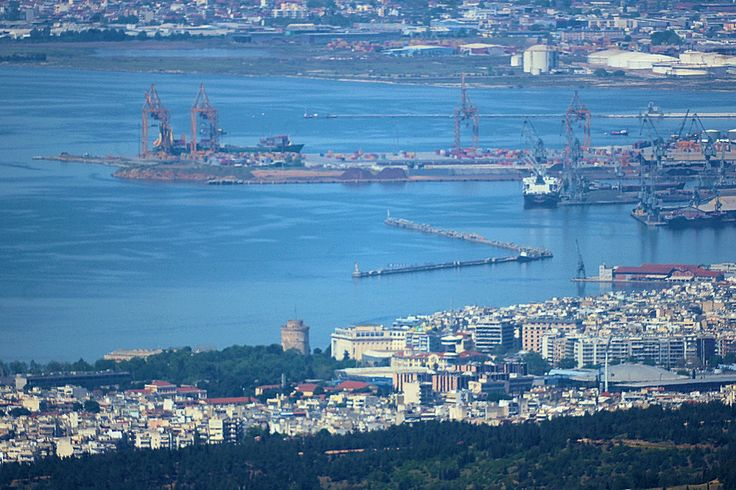 Θεσσαλονίκη: Κέντρο - Λιμάνι (Απρίλιος 2016)