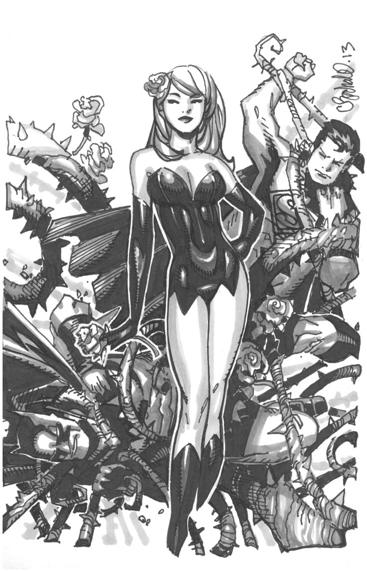 Poison Ivy by Chris Bachalo