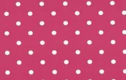 Rózsaszín pöttyös - dekor öntapadós fólia (45 cm x 15 m)