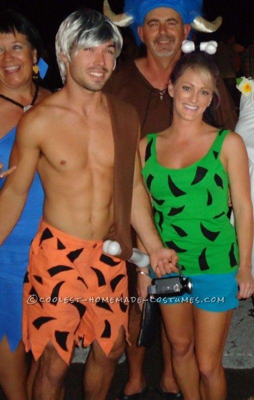 pebbles n bam bam couples costume