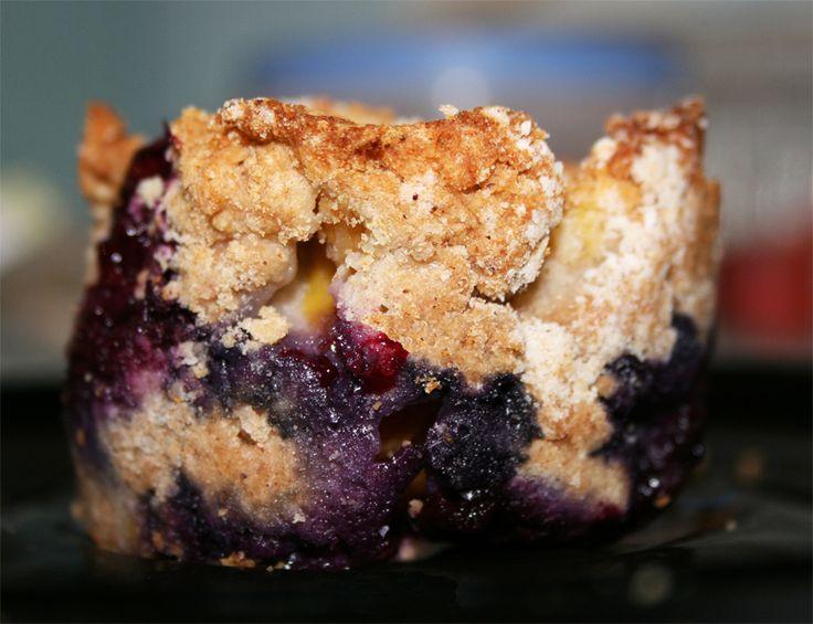 Suikervrije mango blueberry muffins (glutenvrij, zuivelvrij, zonder ei) - SuikerWijzer