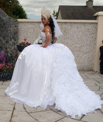 Wedding Dress: Big Fat Gypsy Wedding Dresses Designs