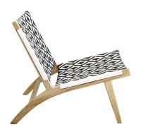 Ashanti Chair Black and White 5000