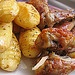 Oven grilled chicken with potatoes is very delicious and healthy recipes,cooked in turbo oven.... Recipes at http://potatorecipes.healthandfitnessjournals.com
