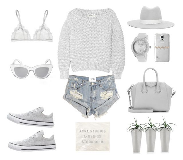 Sweater Weather by fashionlandscape on Polyvore featuring Mode, MM6 Maison Margiela, One Teaspoon, La Perla, Givenchy, Lucien Piccard, BCBGMAXAZRIA, Janessa Leone and Casetify