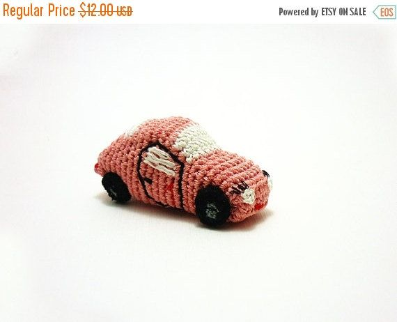 ON SALE Cute plush car toy Crochet stuffed toy by OlMillies