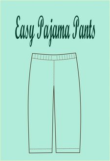 Easy Pajama Pants - FREE SEWING PATTERNS AND TUTORIALS | On the Cutting Floor