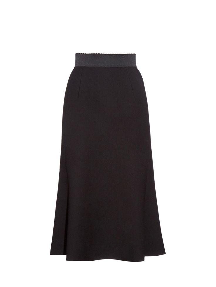 Double-crepe skirt   Dolce & Gabbana   MATCHESFASHION.COM US