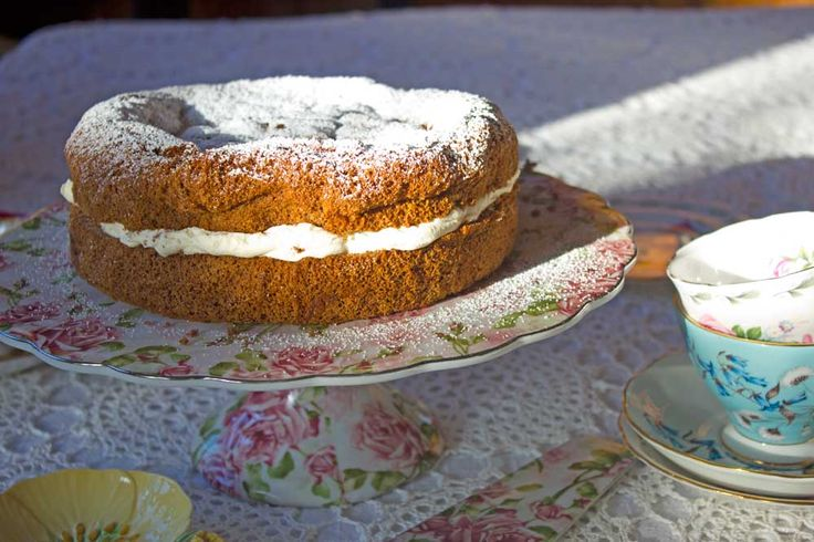 Ginger Fluff Sponge from my nana's wartime cookbook. Nostalgia ahoy!