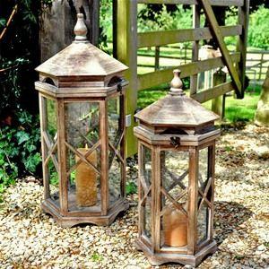 Adobe Small Mont Blanc Garden Lantern