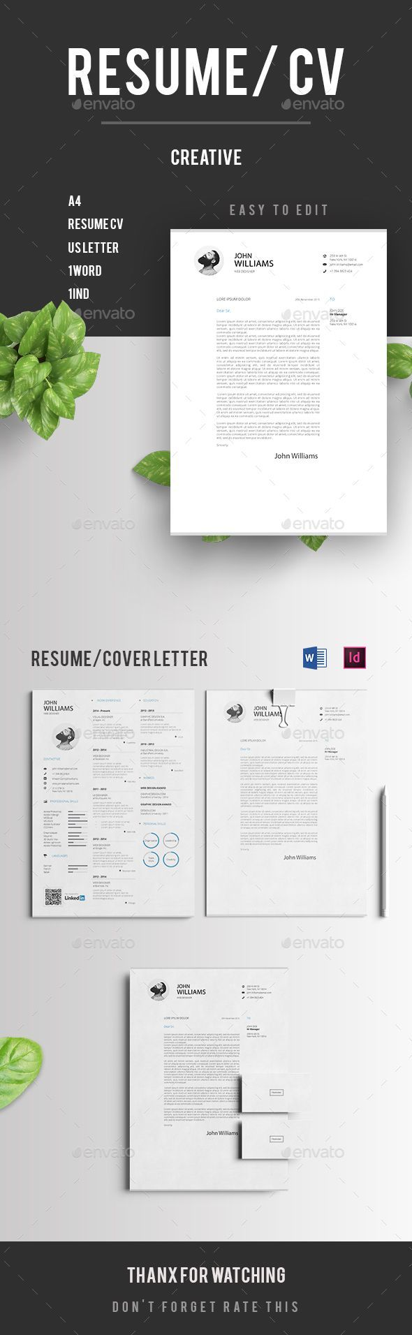 general laborer resume%0A  Resume CV   Resumes Stationery Download here  https   graphicriver
