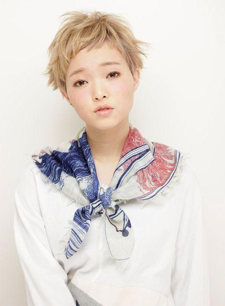 佐野 祥子|遊びゴコロ満載の個性派ベリーショート|ヘアコレ