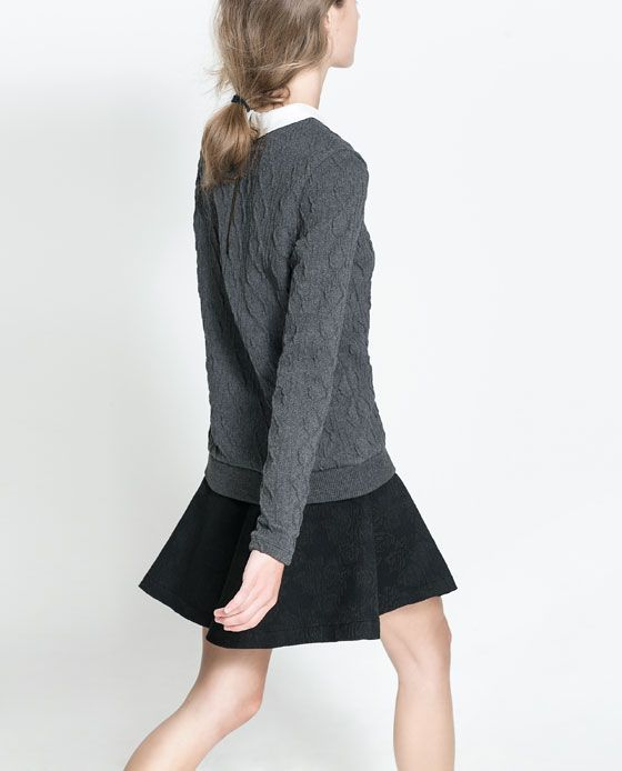 Image 3 of KNITTED SWEATER from Zara