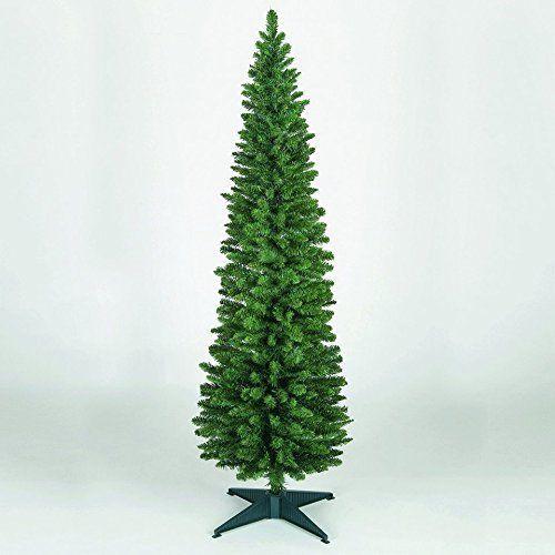 8ft Slim Christmas Tree 7ft Slim Christmas Tree Pencil Slim 4/5/6ft Pine Tree #PencilSlimChristmasTree