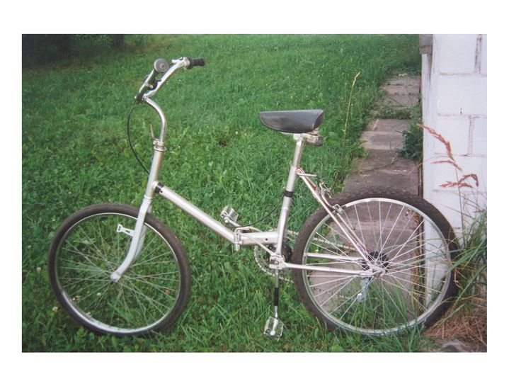 My  first bike prototype  with the oscillating cranks  drive 1994.. /good riding !./