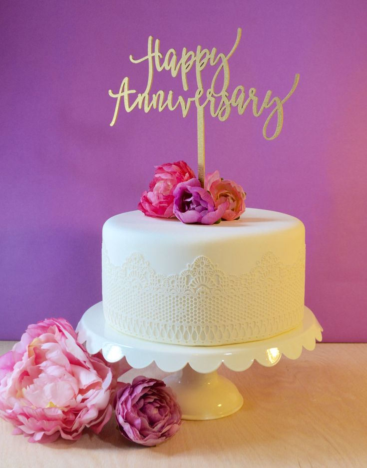 """We want to be a part of your celebration. Whether it's your wedding, baby shower or anniversary, each topper is thoughtfully designed to add a special detail to your special day. ::Material:: Our cake toppers are made of 1/8"""" birch, which is lightweight enough to be used atop even the"""