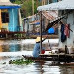 Floating Cham village in Chau Doc . more at http://www.chaudoctravel.com/2013/03/chau-doc-trip-photos/
