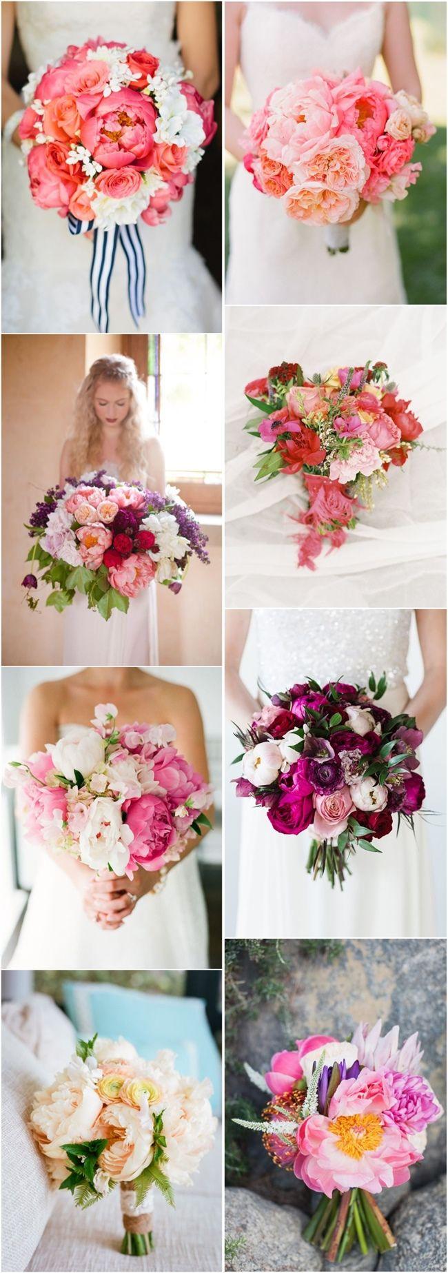 wedding bouquet ideas  peonies wedding bouquets flowers